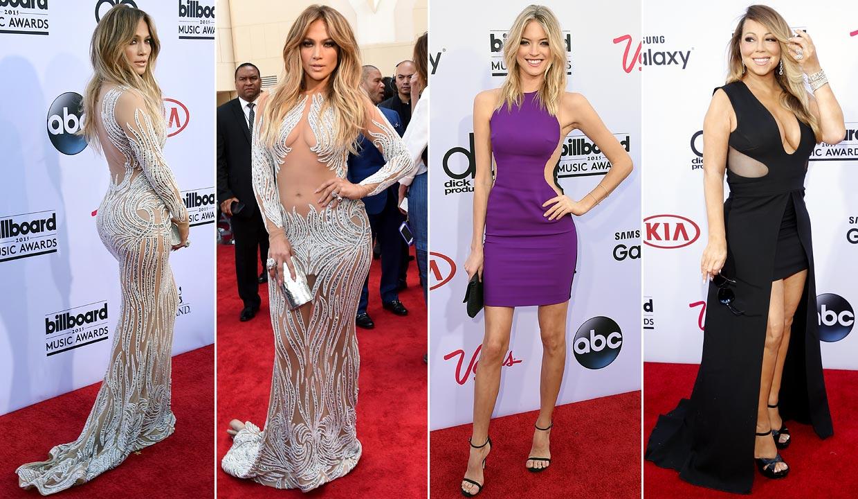 Transparencias 'vs.' 'Cut outs': Así ha sido la alfombra roja de los Billboard Music Awards más atrevidos