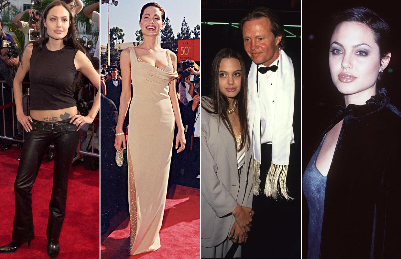 Angelina Jolie, en 40 'looks': Déjate sorprender con su radical cambio de estilo