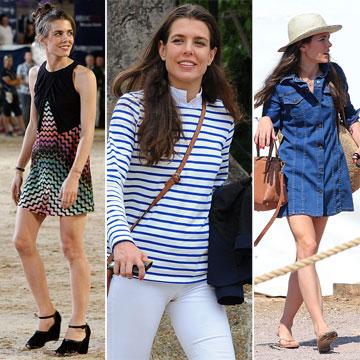 ¿Qué favoritos de moda guarda en su armario Carlota Casiraghi?