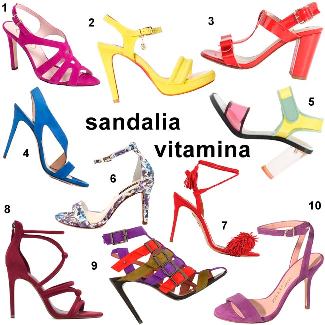 Especial sandalias: ¡Dosis extra de vitamina!
