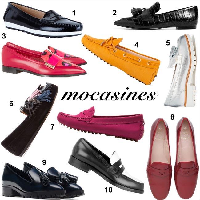 Shopping de mocasines