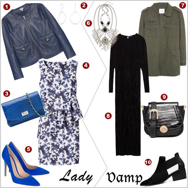 Especial tendencias: ¿Eres 'lady' o 'vamp'?