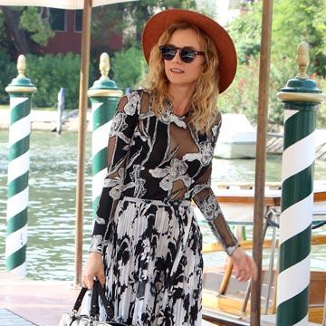 Te mostramos, 'look' a 'look', cómo visten las 'celebrities' en el Festival Internacional de Cine de Venecia