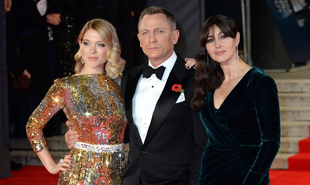 Mónica Bellucci, Léa Seydoux y Naomie Harris: ¿Cómo visten las nuevas 'chicas Bond'?
