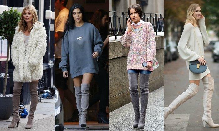 Salir de casa sin pantalones es posible (con camisetas o jerséis 'oversize')