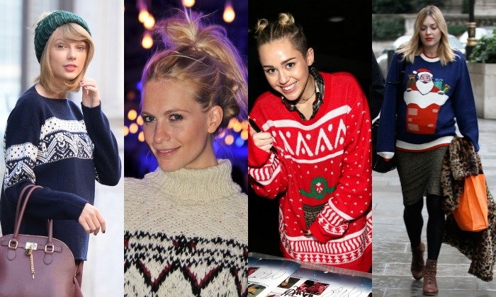 'Shopping' de jerséis de Navidad para él y ella