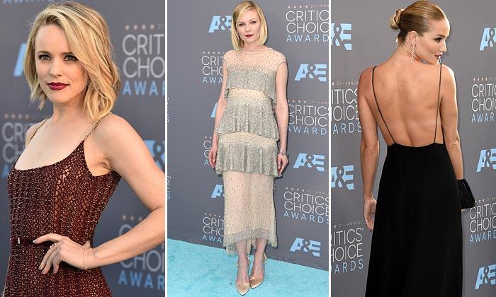 Del color que 'a todas favorece' a la elegancia del negro: La moda de los Critics' Choice Awards, a examen