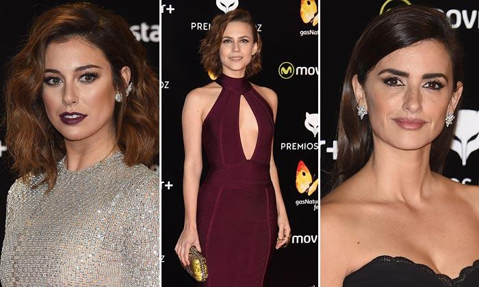 Especial accesorios: 'Ear cuffs' y 'clutch' metalizados, tendencias ganadoras en los Premios Feroz