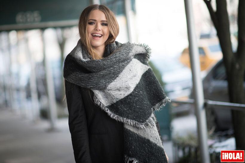 gran descuento apariencia estética colores y llamativos Bufandas XXL: Con la lana al cuello - Foto