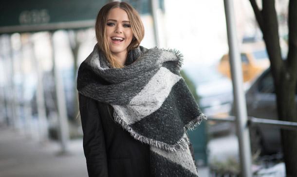Bufandas XXL: Con la lana al cuello