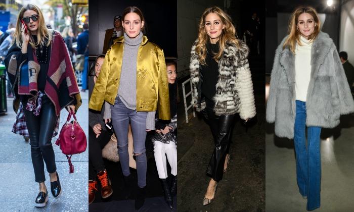 Olivia Palermo, ¿cuánto gastas en ropa durante el invierno?