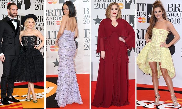 BRIT Awards 2016 o cómo hacer de una alfombra roja un 'circo' de tendencias
