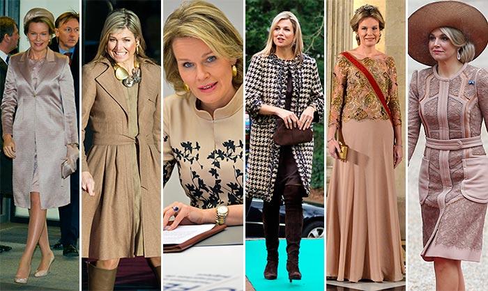 ¿Qué tonalidades han 'reinado' entre las 'royals' esta semana?