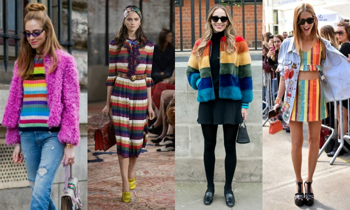 Colores de primavera: ¿Te atreves con la 'tendencia arcoíris'?