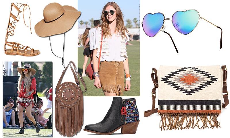 Botines, sombreros, mochilas… Buscamos los complementos perfectos para que acudas a un festival de música