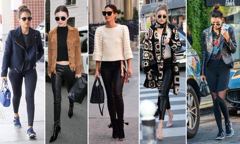 Guía de estilo: 'Leggings' negros, 7 días/24 horas