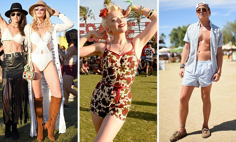 Coachella (2º fin de semana) y sus 'looks' no aptos para cualquier época del año/evento