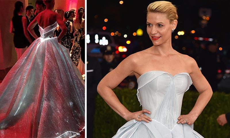 Claire Danes y su (luminoso) vestido triunfan: Elegida la mejor vestida de la Gala MET 2016