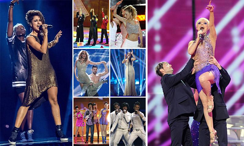 Barei: ¿cómo vestirá en la final? Analizamos los últimos 15 'looks' de España en Eurovisión
