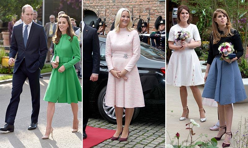 Y la falda de moda entre la realeza es... Foto a foto, descúbrela