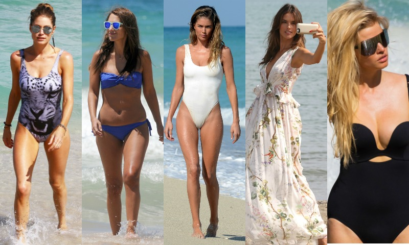 Ropa de playa para mujeres delgadas