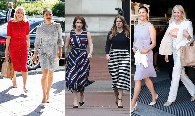 ¡Veo doble! Los mejores estilismos de las 'royals' vienen en pareja