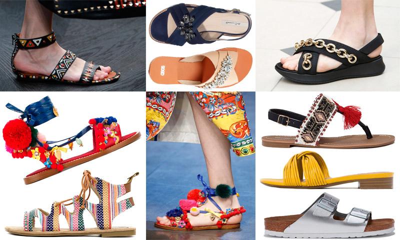'Comfy steps': 9 sandalias planas que marcan tendencia