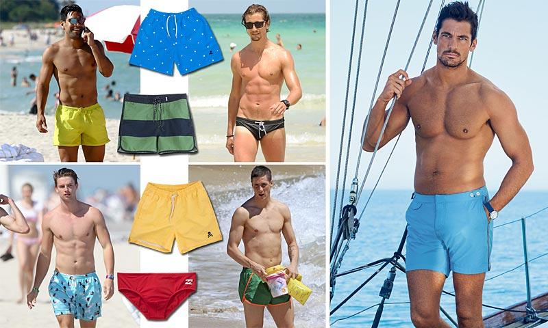Torres, Patrick Schwazenegger, Hermann Nicoli, Falcao… Ellos también visten ropa de baño (y con estilo)
