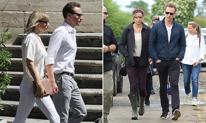 Taylor Swift ha vuelto y ha creado junto a Tom Hiddleston la pareja más 'cool' del verano