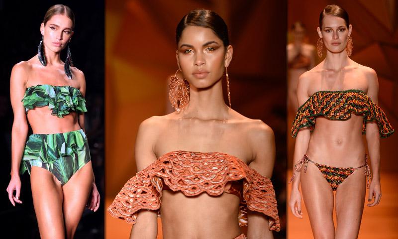 ¿Sabes lo que es el 'flamenkini'? ¡Así es el traje de baño fetiche de las 'fashionistas'!