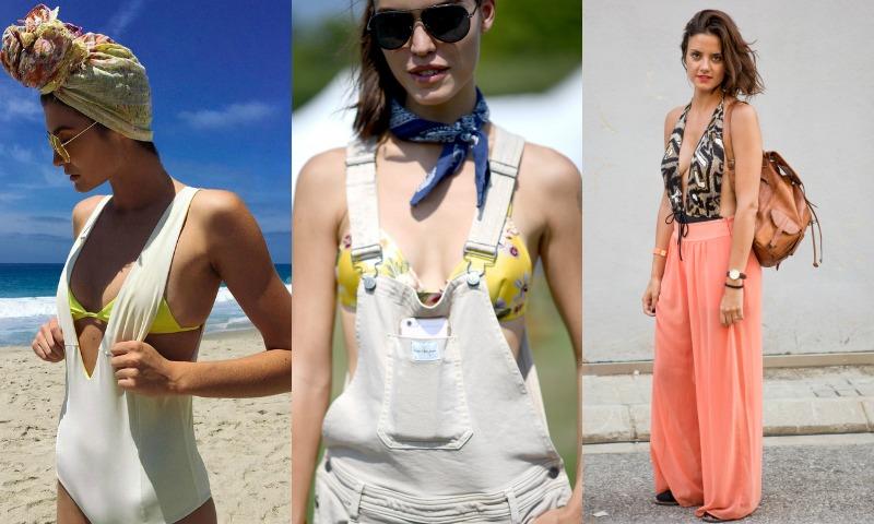 Bikini + bañador: ¿Es posible llevar dos piezas de baño en un mismo 'look'?