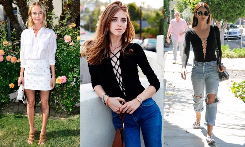 Top 'lace-up': La prenda que querrás tener este verano