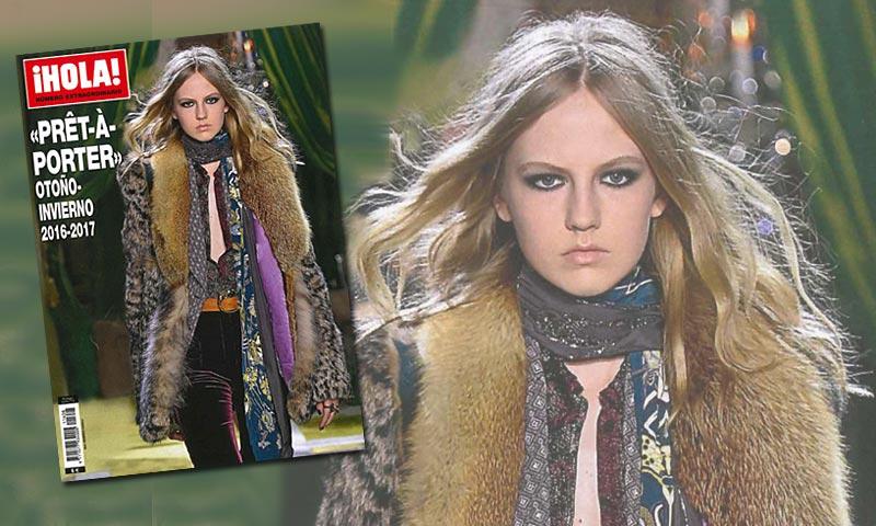 A la venta, especial ¡HOLA! con toda la moda 'prêt-à-porter' para otoño-invierno 2016-2017