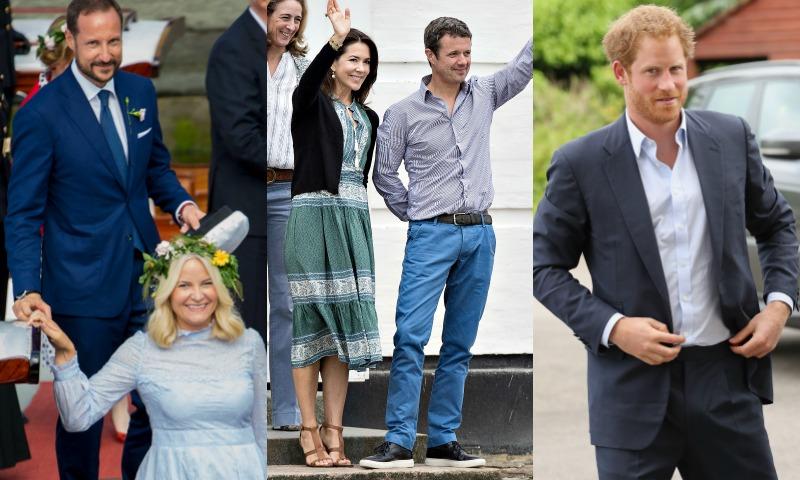 FOTOGALERÍA: Reyes y príncipes... ¡con mucho estilo!