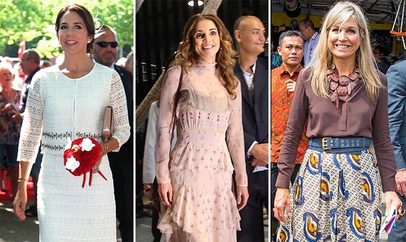 'Bye, bye, summer'! Repasamos los 'looks' veraniegos de las 'royals'