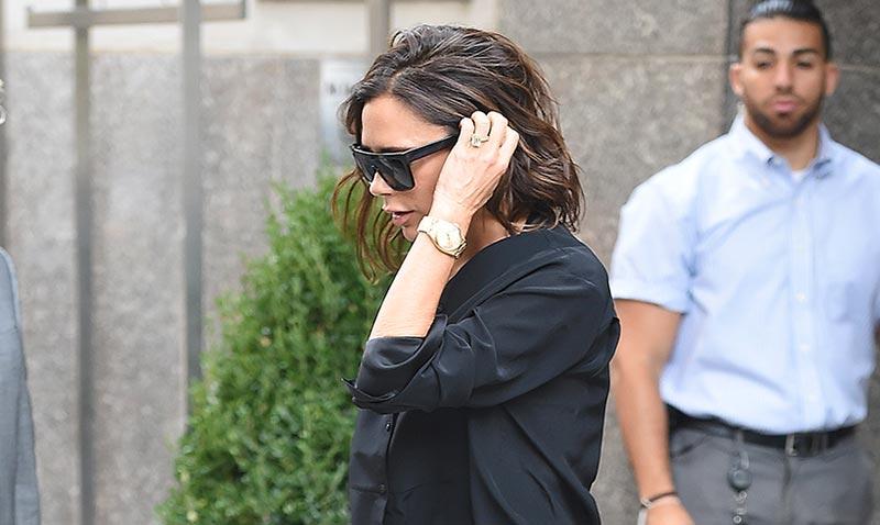 Victoria Beckham, adiós a los tacones