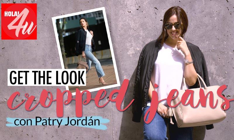 Patry Jordán nos enseña cómo llevar unos 'cropped jeans' en nuestro canal HOLA!4u