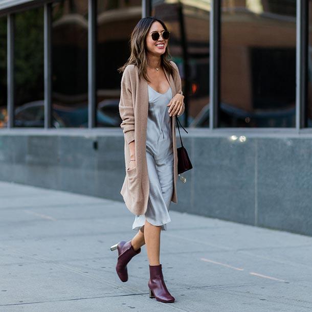 a31e514ed8 Working girl   Así se lleva el vestido lencero a la oficina - Foto