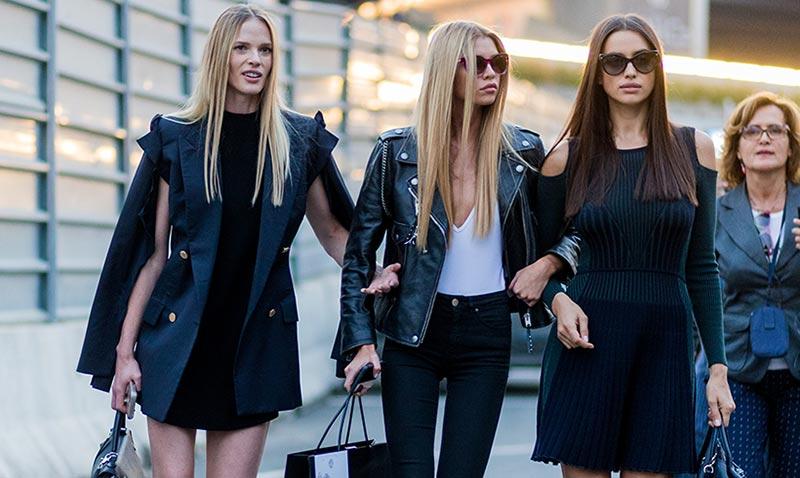 Modelos 'off duty', ¡consigue su 'look'!