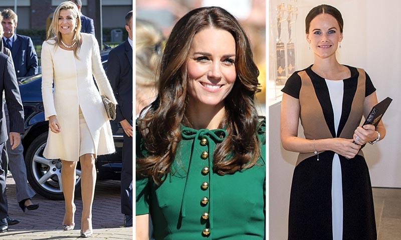 'Looks' de alfombra roja y para bautizos: así ha sido la semana de 'moda real'