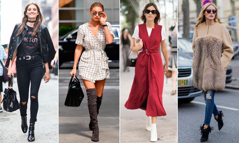 El calzado que las 'it-girls' no se quieren quitar (ni en los días de lluvia): Una bota (o botín) y un 'look'