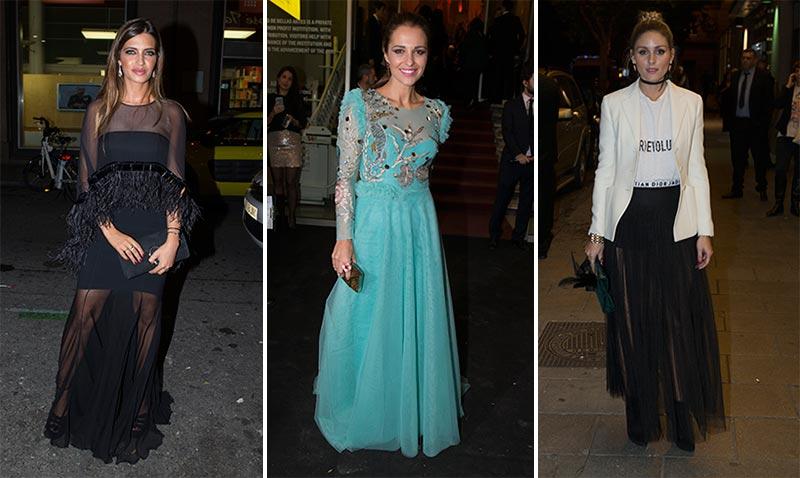 Sara Carbonero, Paula Echevarría, Olivia Palermo, Gwyneth Paltrow... ¡Noche de 'glamour' en Madrid!