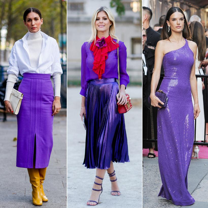 Del lavanda al púrpura, pasando por el lila… así es la gama que ...