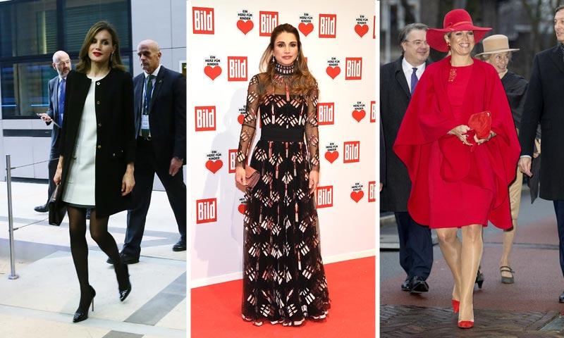 Doña Letizia, Máxima de Holanda, Rania de Jordania... Las 'royals' se preparan para Navidad