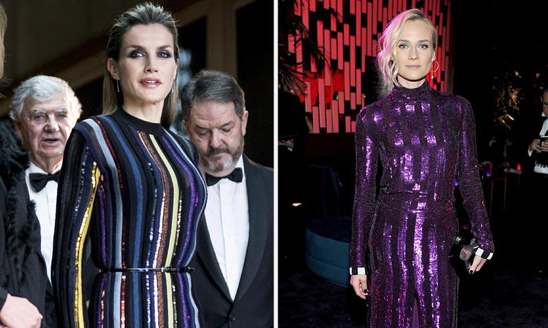 Diane Kruger nos lo confirma: el estilo más sorprendente de doña Letizia sigue estando de moda