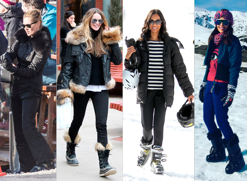 original outfit esqui mujer en