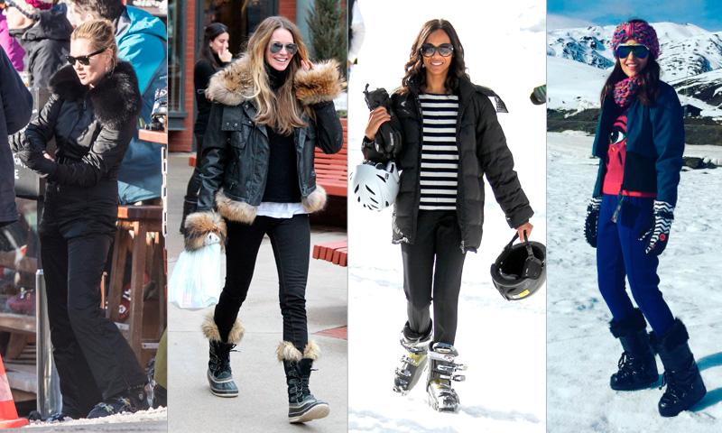 ¿Próximo destino? ¡A la nieve con el 'look' más 'trendy'!