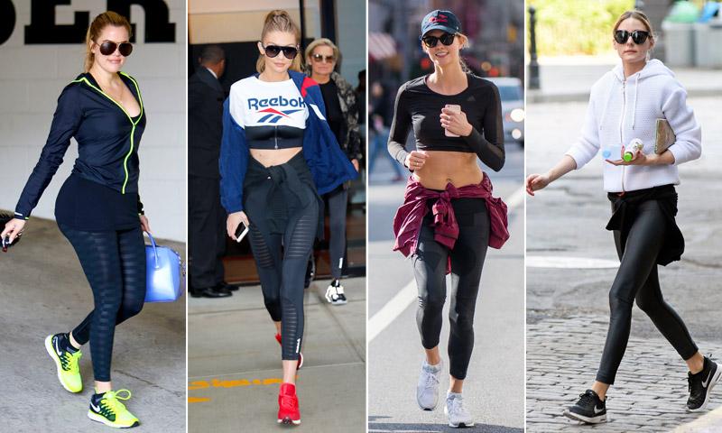 Propósitos de Año Nuevo: ¡Yo, al gimnasio y con el mejor 'look fitness'!