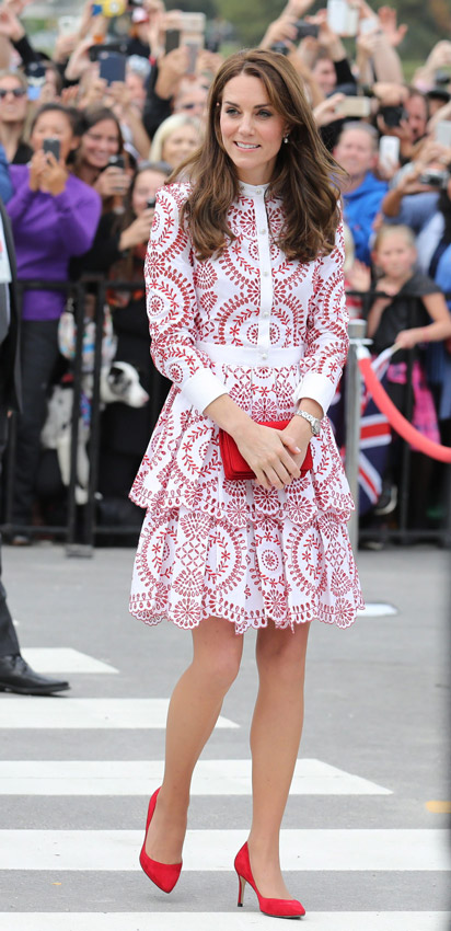 Catherine Middleton 2016