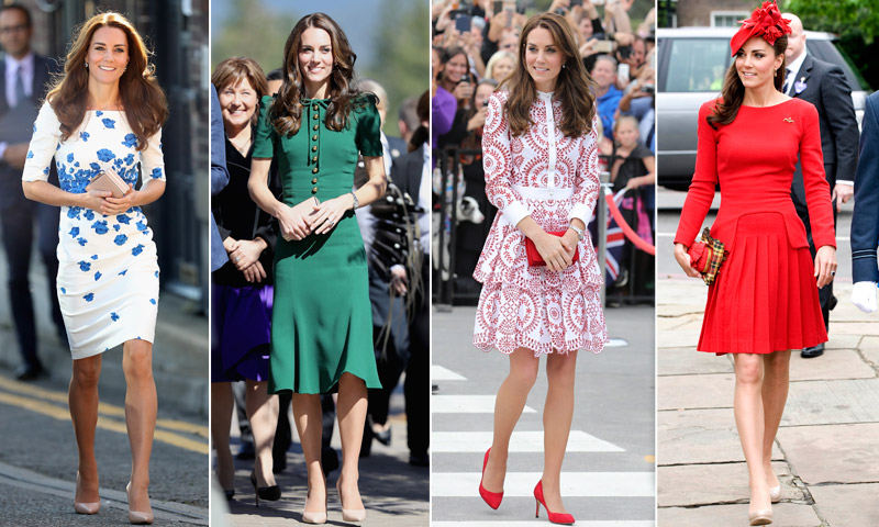 La Duquesa de Cambridge cumple 35 años: su estilo, en 60 'looks' y 3 claves